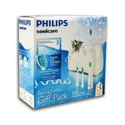Philips Sonicare HX6511/33  Easy Clean Gift Pack - szczoteczka soniczna do mycia zębów + GRATIS kosmetyczka i 2 końcówki wymienne
