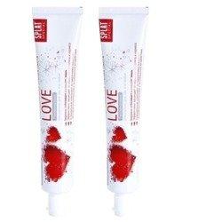 SPLAT Special LOVE - pasta odświeżająca, działająca przeciwwirusowo, przeciwzapalnie i przeciwbakteryjnie  2x75 ml
