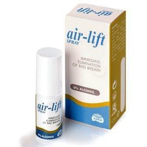 AIR-LIFT Mouth Spray 15ml - odświeżacz jamy ustnej w sprayu, zwalcza nieświeży oddech (halita), 15 ml