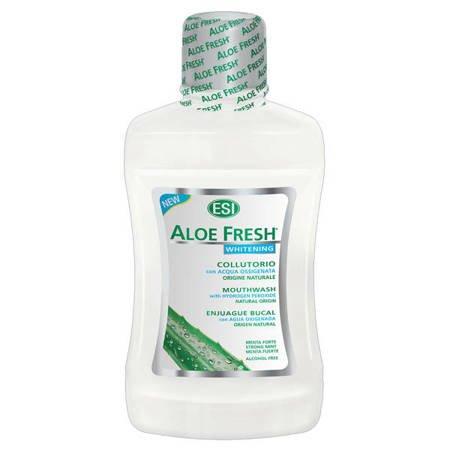 Aloe Fresh Whitening wybielajacy płyn do płukania jamy ustnej, 500 ml