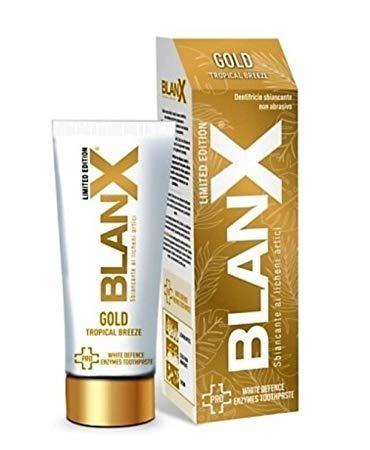 BLANX PRO GOLD Tropical Breeze 75ml - pasta wybielająca do zębów  - EDYCJA LIMITOWANA
