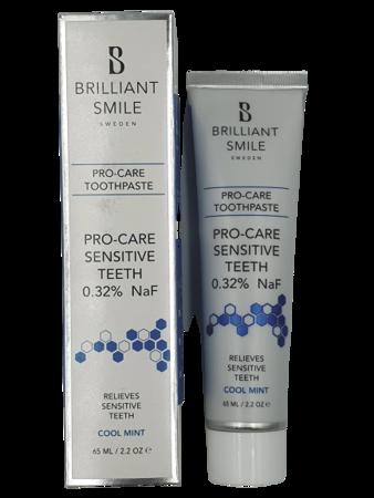 Brilliant Smile PRO-CARE Sensitive łagodna pasta do zębów wrażliwych, 65 ml