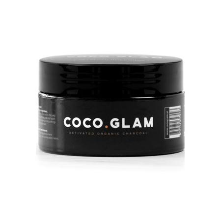 COCO Glam czarny proszek do usuwania przebarwień i wybielania zębów z węglem aktywnym , 30 g