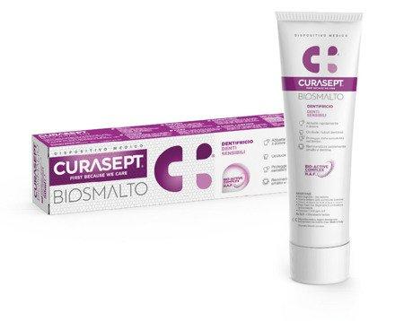Curasept BIOSMALTO SENSITIVE pasta natychmiastowy efekt do zębów wrażliwych i po zabiegach, 75 ml
