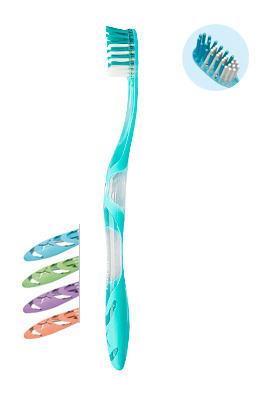 ELGYDIUM Anti-plaque- szczoteczka do mycia zębów przeciw płytce nazębnej, soft
