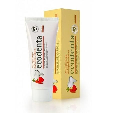 Ecodenta Czarna Porzeczka- pasta do mycia zębów dla dzieci z wyciągiem rumianku, 75 ml