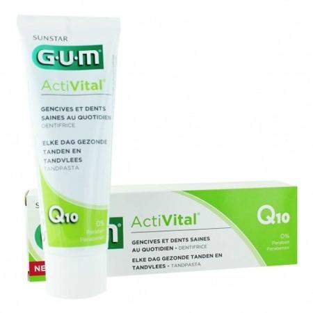 GUM SUNSTAR ActiVital 6050- pasta do mycia zębów przeciw chorobom dziąseł, 75 ml