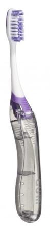 GUM SUNSTAR Ortho Brush Travel -  składana szczoteczka do mycia zębów z aparatem ortodontycznym