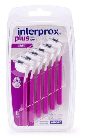 Interprox® Plus Maxi PHD 2,1 - szczoteczki międzyzębowe z uchwytem, 6 sztuk