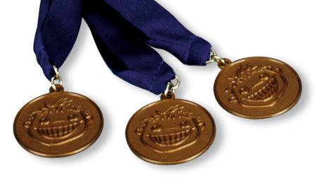 MIRATOI Nr. 12 - medal na tasiemce, nagroda dla Dzielnego Pacjenta