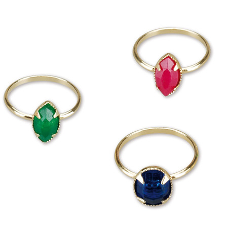 MIRATOI Nr. 6 - pierścionki z oczkiem, nagrody dla Dzielnego Pacjenta, 100 sztuk