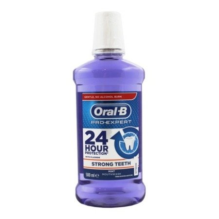 Oral-B Pro-Expert 24 HOUR PROTECTION Cleanic Line - płyn do płukania jamy ustnej bez alkoholu, 500 ml