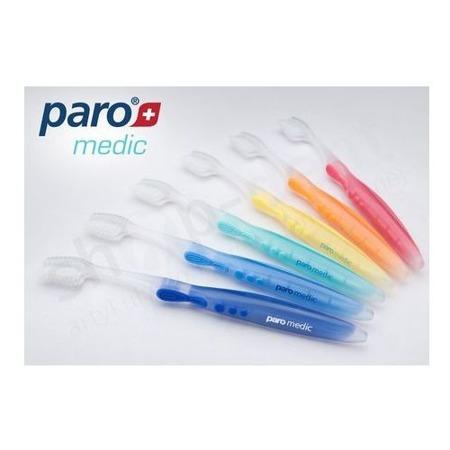 PARO Medic 726 -  Szczoteczka dla Pacjentów o wrażliwych dziąsłach i paradontozą