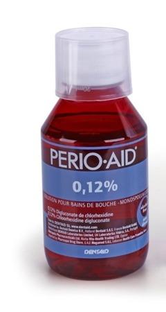 Perio-Aid Dentaid 0.12% - płyn do płukania jamy ustnej do zwalczania chorób przyzębia, 150 ml