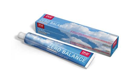 SPLAT Special BALANCE ZERO 75ml - hypoalergiczna pasta do mycia zębów z jonami srebra, przezroczysta