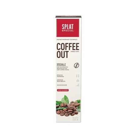 SPLAT Special COFFEE OUT pasta wybielająca dla palaczy i kawoszy ,75ml