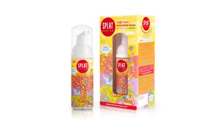 Splat MAGIC FOAM FLUOR pianka z fluorem i enzymami mlecznymi  - 50 ml