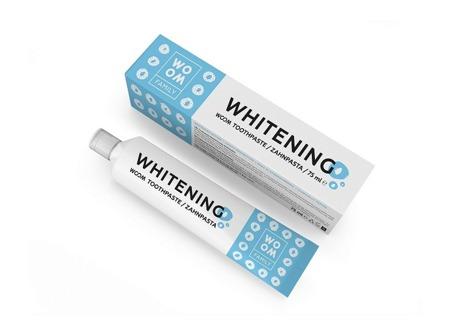WOOM FAMILY Whitening wybielająca pasta do mycia zębów