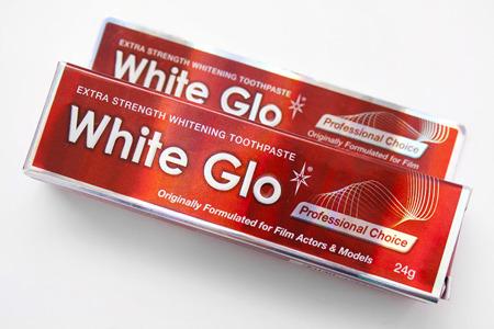 White Glo Professional Chioce - pasta wybielająca dla aktorów i modelek, 24 g