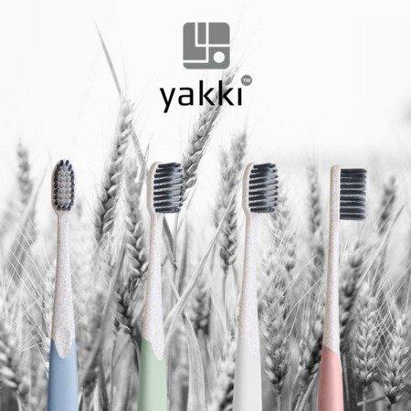 YAKKI antybakteryjna bio- szczoteczka z etui do mycia zębów z węglem aktywnym