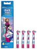 Braun Oral-B Kids Stages Power FROZEN EB-10 - końcówki wymienne dla dzieci 4 sztuki, seria Kraina Lodu